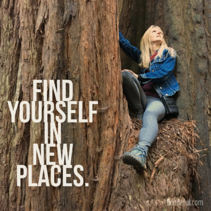 Find Yourself in new Places